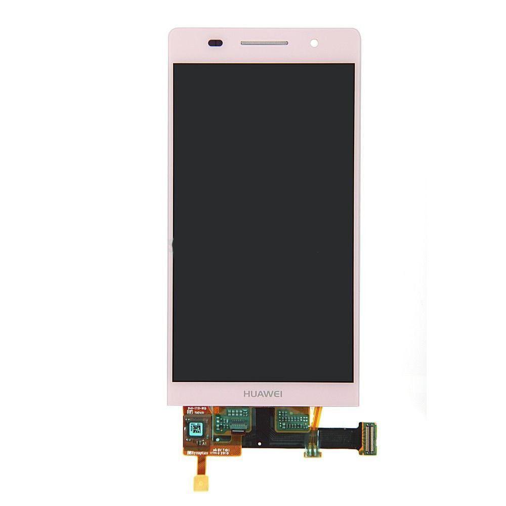 Дисплей (LCD) Huawei Ascend P6-U06 с тачскрином pink