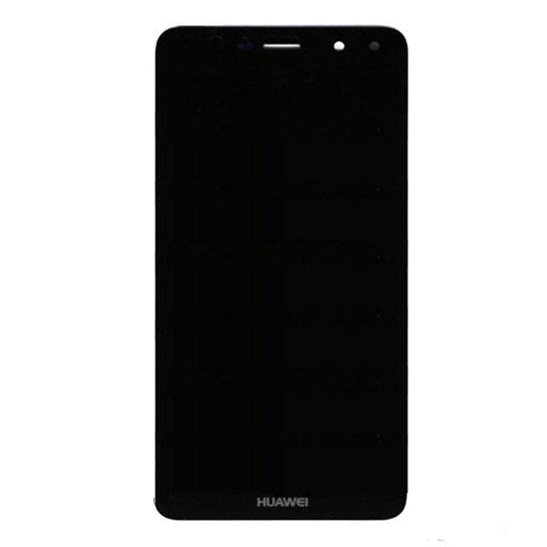 Дисплей (LCD) Huawei Y6 (2017) с тачскрином, чёрный