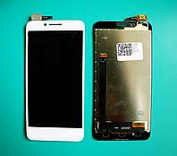 Дисплей (LCD) Lenovo A2020a40 Vibe C с тачскрином, белый ориг. к-во