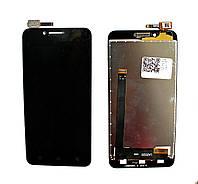 Дисплей (LCD) Lenovo A2020a40 Vibe C с тачскрином, чёрный ориг. к-во