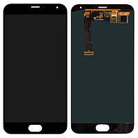 Дисплей (LCD) Meizu MX5 | MX5e | MX5 Lite с тачскрином чёрный orig