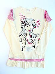 Модная платье туника (рост 152,11-12лет)