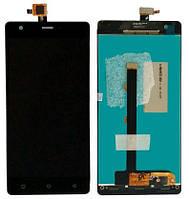 Дисплей (LCD) Nomi i506 Shine с тачскрином чёрный