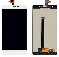 Дисплей (LCD) Nomi i506 Shine с тачскрином белый