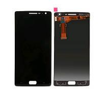 Дисплей (LCD) OnePlus 2 с тачскрином чёрный