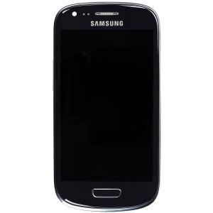 Дисплей (LCD) Samsung i8190 Galaxy S3 mini с тачскрином, синий, ориг. к-во