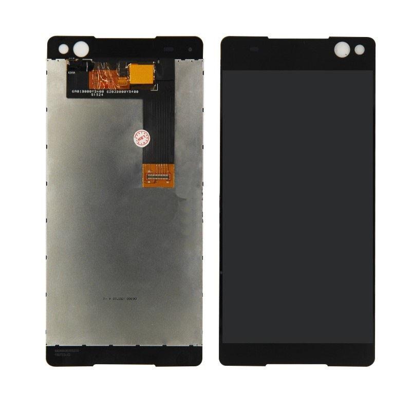 Дисплей (LCD) Sony E5533 Xperia C5 Ultra Dual   E5506   E5563 с тачскрином чёрный orig (LCD TEST)