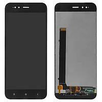 Дисплей (LCD) Xiaomi Mi A1   Mi5X с тачскрином чёрный