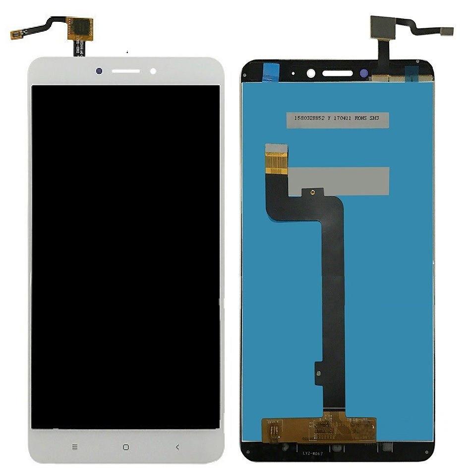 Дисплей (LCD) Xiaomi Mi Max 2 с тачскрином белый