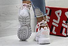 Жіночі,підліткові кросівки Fila,білі 40р, фото 3