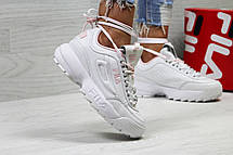 Жіночі,підліткові кросівки Fila,білі 40р, фото 2