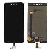 Дисплей (LCD) Xiaomi Redmi Note 5A Prime   Redmi Y1 с тачскрином, чёрный ориг. к-во