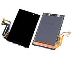 Дисплей (LCD) BlackBerry Z10 Pictures с тачскрином и рамкой чёрный orig