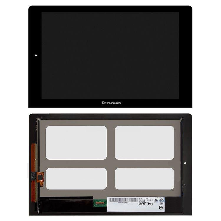 Дисплей (LCD) планшет Lenovo B8080 Yoga Tablet 10 с тачскрином, черный