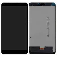 Дисплей (LCD) для планшета Lenovo PB1-750M LTE Phab с тачскрином, черный