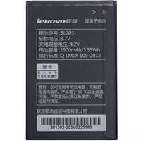 Аккумулятор акб ориг. к-во Lenovo BL203 A369 | A269 | A278T | A300 | A308 | A316 | A318 | A369i | A66, 1500mAh