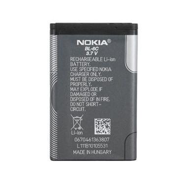 Аккумулятор акб оригинальное к-во Nokia BL-6C