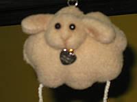 Овечка Подвесная игрушка Сувенир, фото 1