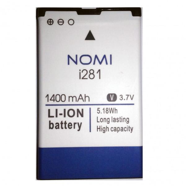 Аккумулятор акб ориг. к-во Nomi NB-281 i281, 1400mAh