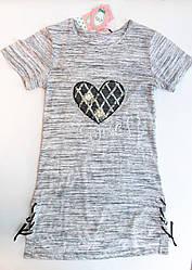 Суперовое трикотажное платье подросток р.(140-146 )