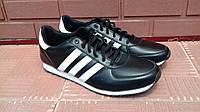 Кроссовки мужские черного цвета.р.44.Adidas.