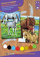 Набор для творчества Sequin Art PAINTING BY NUMBERS JUNIOR-PAIRS Horses SA0215