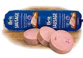 Колбаса Brit Premium Dog Sausage 800g  с курицей и кроликом