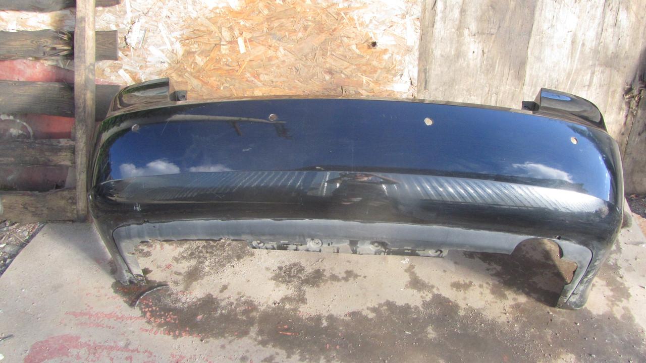 Бампер черный под парктроник задний Hyundai Sonata NF 866103K000