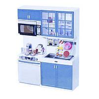 Кухня кукольная со световыми и звуковыми эффектами, Маленькая хозяюшка 3, QunFengToys