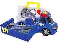 Полиция с набором полицейского (звук, свет), 33 см, Dickie Toys