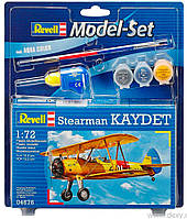 Model Set Самолет Stearman Kaydet;1:72, Revell