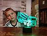 """3D светильник ночник """" Автомобиль 36  """" 3DTOYSLAMP"""