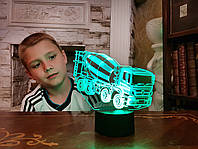 """3D светильник ночник """" Автомобиль 36  """" 3DTOYSLAMP, фото 1"""