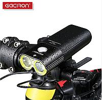 Велосипедна фара Gaciron V9D-1600 IPX6 1600 люмен 5000мАч + виносна кнопка на кермо, фото 1