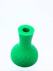 Чашка для кальяна силиконовая с бортом, фото 3