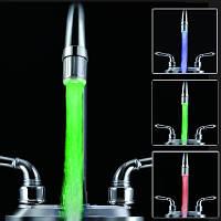 Насадка на кран подсветка воды улучшенная