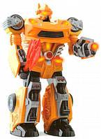 Робот M.A.R.S. с голосом и звуковыми эффектами (желто-красный), Hap-p-kid
