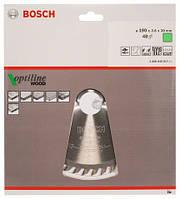 BOSCH Optiline Wood 190х2,6х30 мм - Пильний диск для ручних циркулярних пив , 48 зубів