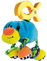 Мягкая вибрирующая игрушка-подвеска Собачка, Canpol babies (68/010-4)