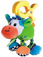 Мягкая вибрирующая игрушка-подвеска Корова, Canpol babies (68/010-4)