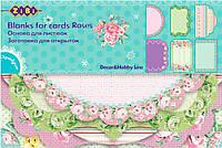 Заготовка для открыток Roses (10.2 × 15.3 см), ZiBi