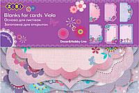 Заготовка для открыток Viola (10.2 × 15.3 см), ZiBi