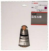 BOSCH Multi Material 254х3,2х30 мм, 60 зубів - Пильний диск по алюмінію для торцювальних пил