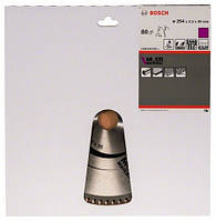BOSCH Multi Material 254х3,2х30 мм, 80 зубів - Пильний диск по алюмінію для торцювальних пил