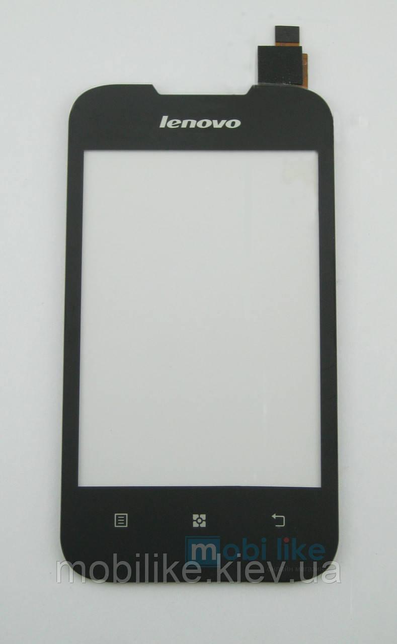 Сенсорний екран Lenovo A66 чорний