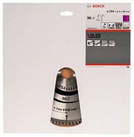 BOSCH Multi Material 254х3,2х30 мм, 96 зубів - Пильний диск по алюмінію для торцювальних пил