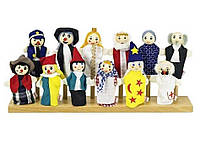 Набор кукол для пальчикового театра, Goki