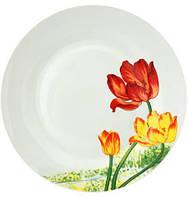Набор 6 подставных тарелок ST Тюльпан d 26.5 см Белый (ST-55624_psg)