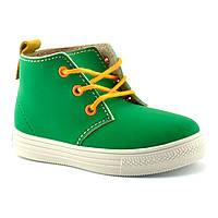 Ботинки детские Befado Funny, зеленые (29 р.)