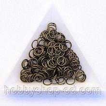 Соединительные колечки диаметр 7 мм толщина 0,7 мм бронза (примерно 0,5 кг)